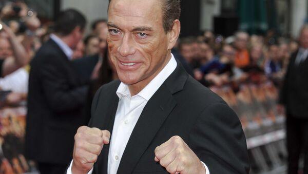 Jean-Claude Van Damme, actor belga - Sputnik Mundo