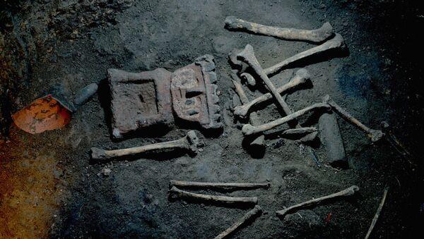 Restos arqueológicos encontrados en Zultépec-Tecoaque - Sputnik Mundo