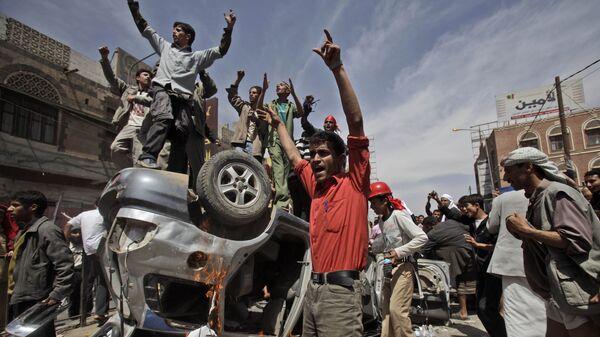 Protestas en Yemen en 2011 - Sputnik Mundo
