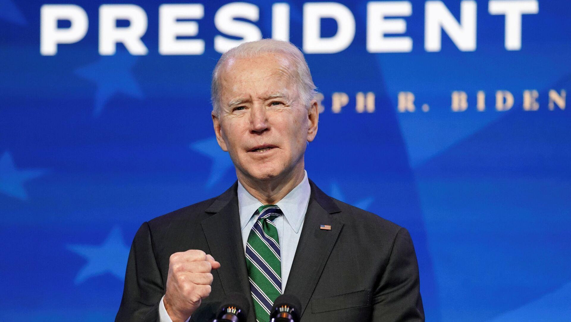 Joe Biden, presidente electo de EEUU - Sputnik Mundo, 1920, 26.01.2021