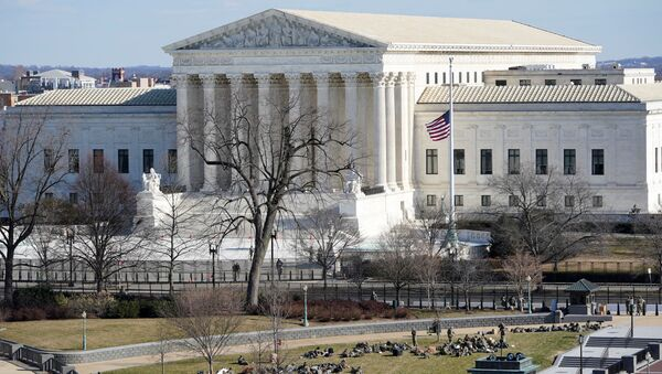 El Tribunal Supremo de EEUU - Sputnik Mundo