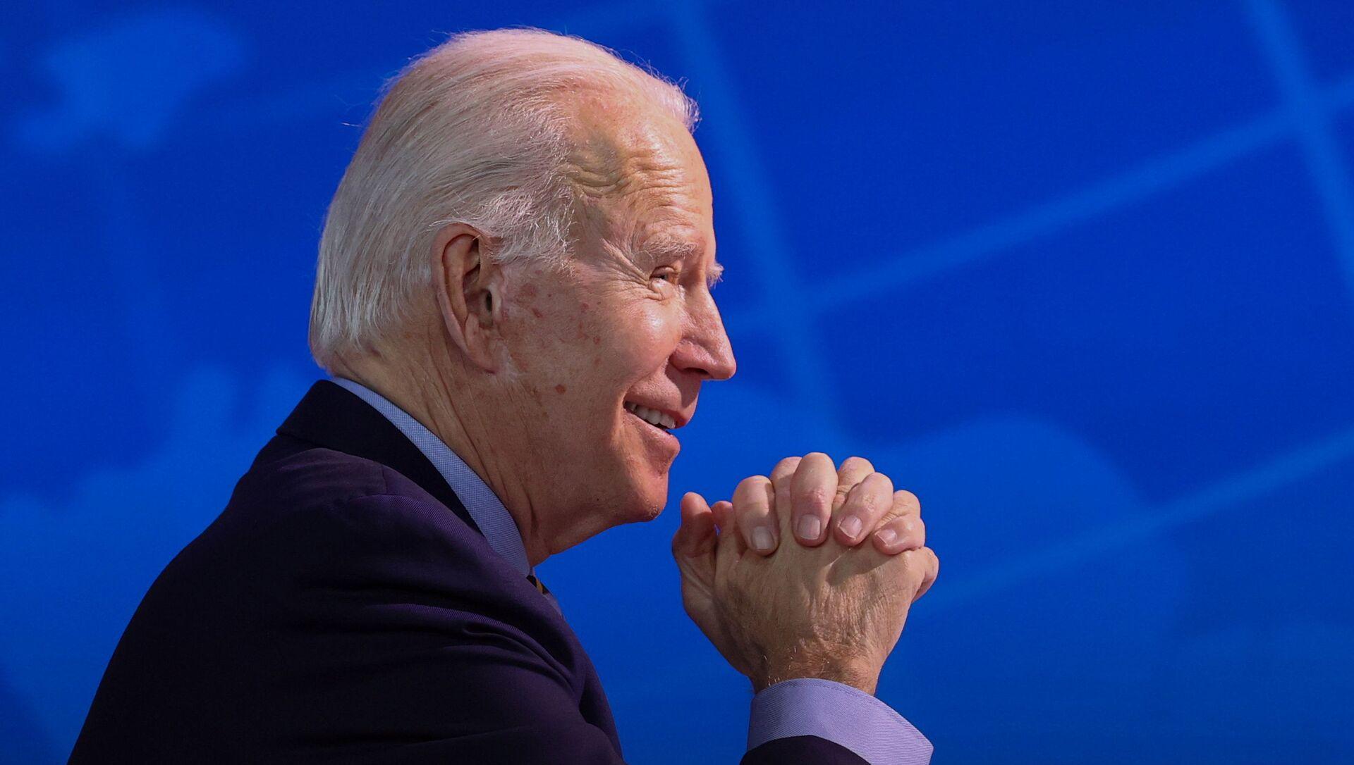 El presidente electo de EEUU Joe Biden - Sputnik Mundo, 1920, 20.01.2021