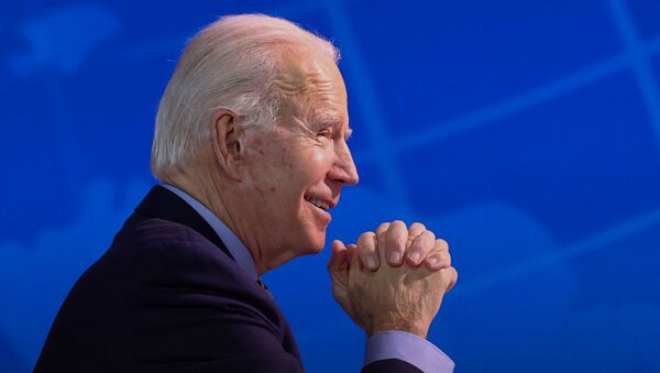 El presidente electo de EEUU Joe Biden - Sputnik Mundo