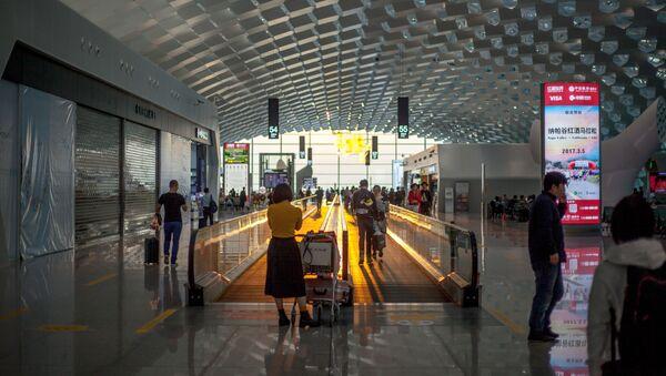 Aeropuerto de Shenzhen, China - Sputnik Mundo