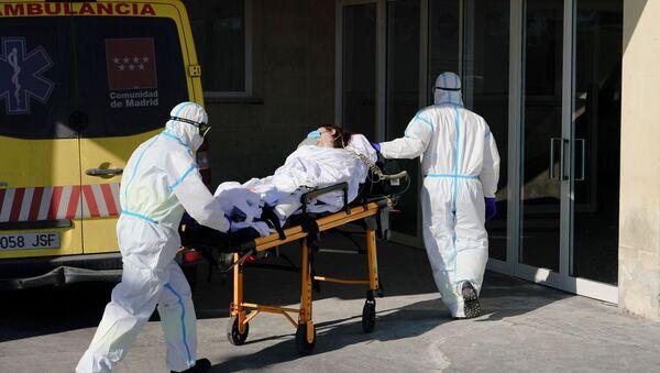 Coronavirus en Madrid - Sputnik Mundo