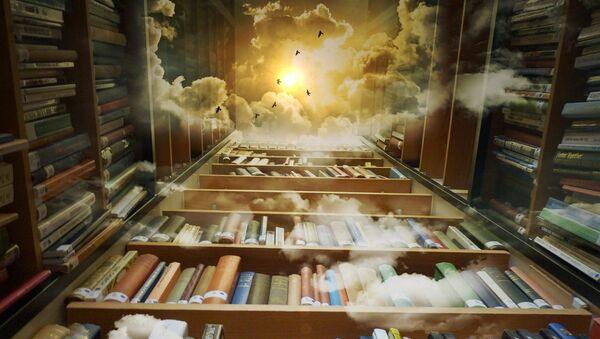 Biblioteca infinita  - Sputnik Mundo