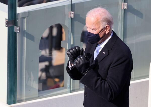 Joe Biden, de 78 años, consiguió llegar a la Casa Blanca como presidente en su tercer intento. Se convirtió así en el presidente con mayor edad en la historia del país.   - Sputnik Mundo