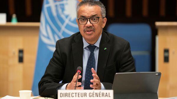 Tedros Adhanom Ghebreyesus, director general de la Organización Mundial de la Salud (OMS) - Sputnik Mundo