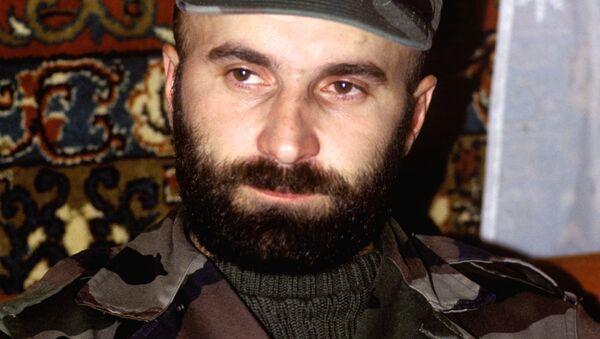 Shamil Basáyev, terrorista checheno - Sputnik Mundo