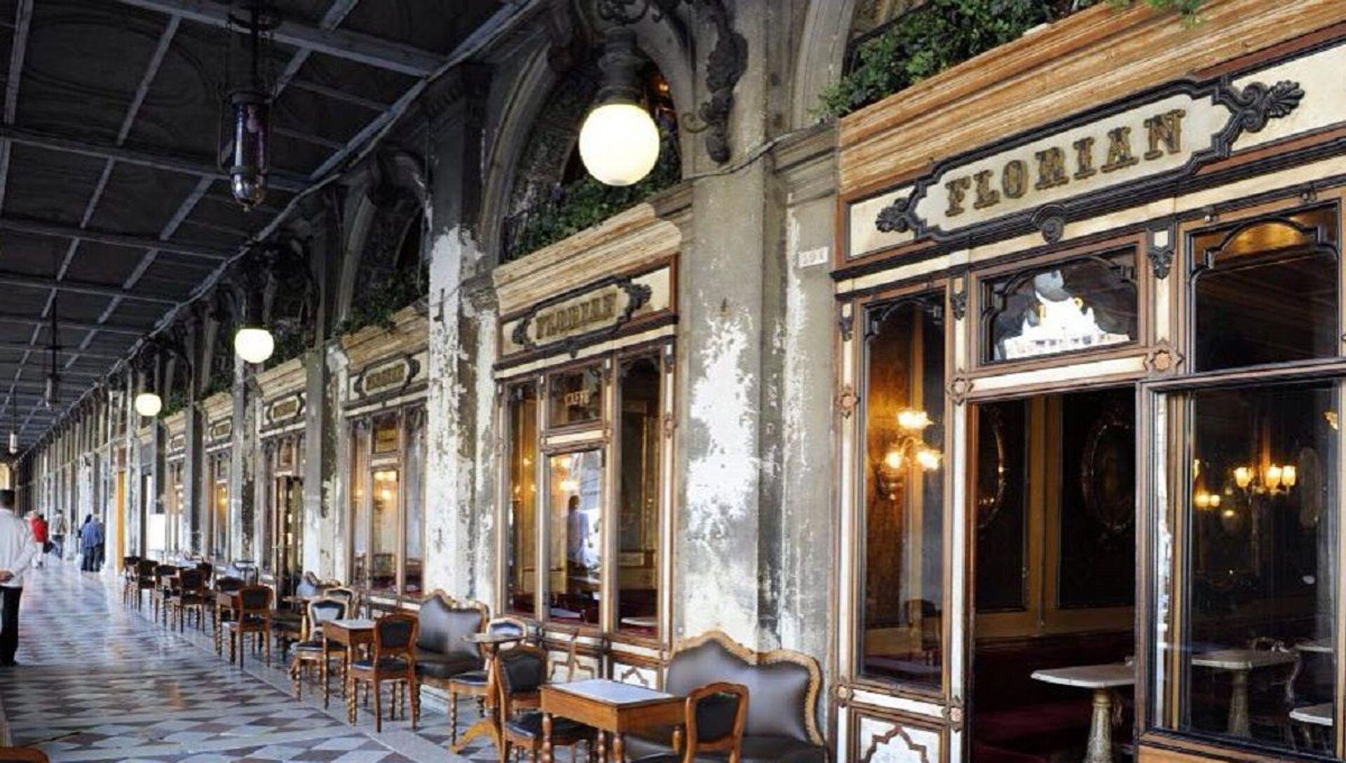 Café Florian en Venecia - Sputnik Mundo, 1920, 21.01.2021