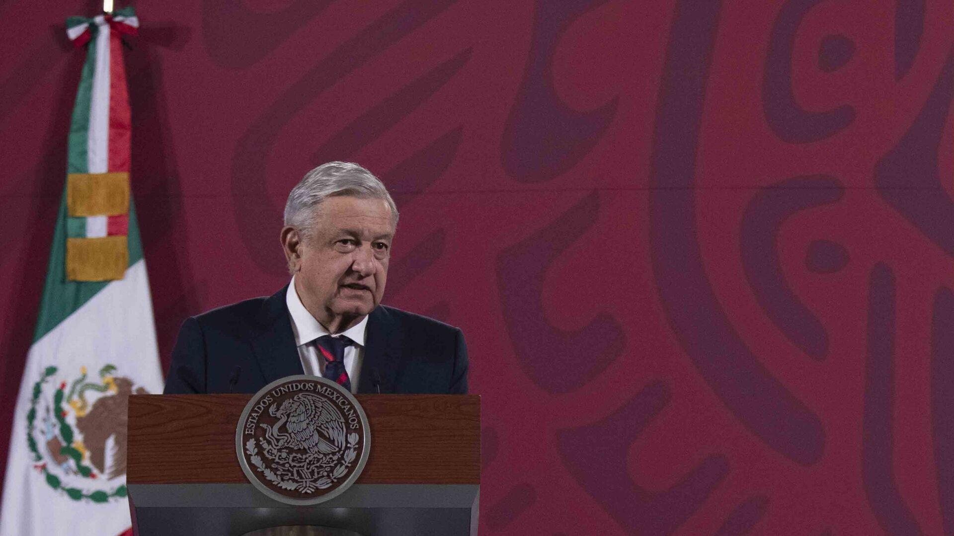 El presidente de México, Andrés Manuel López Obrador - Sputnik Mundo, 1920, 05.03.2021