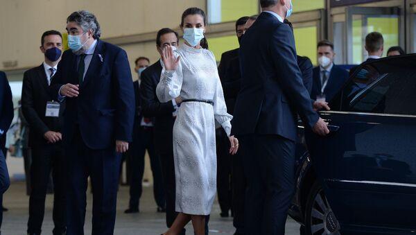 La reina Letizia en la inauguración del evento Tourism Innovation Summit en Sevilla - Sputnik Mundo