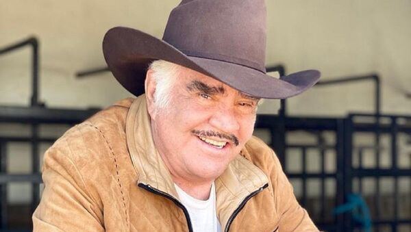 Vicente Fernández, cantante mexicano - Sputnik Mundo