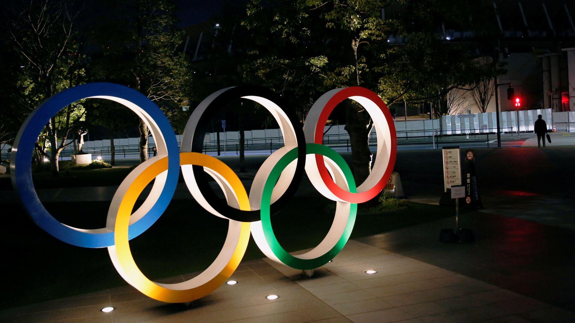 Logo de los Juegos Olímpicos en Tokio - Sputnik Mundo, 1920, 26.03.2021