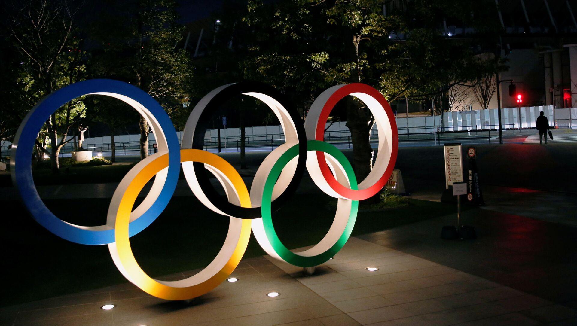 Logo de los Juegos Olímpicos en Tokio - Sputnik Mundo, 1920, 22.01.2021