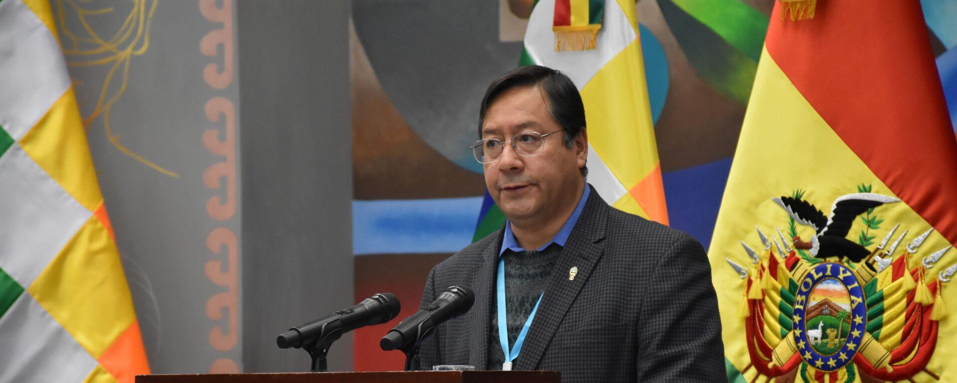Luis Arce, el presidente de Bolivia - Sputnik Mundo, 1920, 17.08.2021