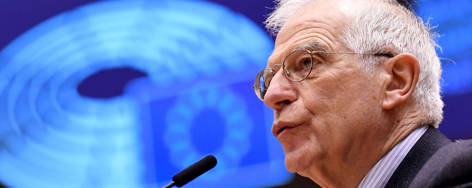 Josep Borrell, alto representante para la Política Exterior de la UE  - Sputnik Mundo, 1920, 27.05.2021