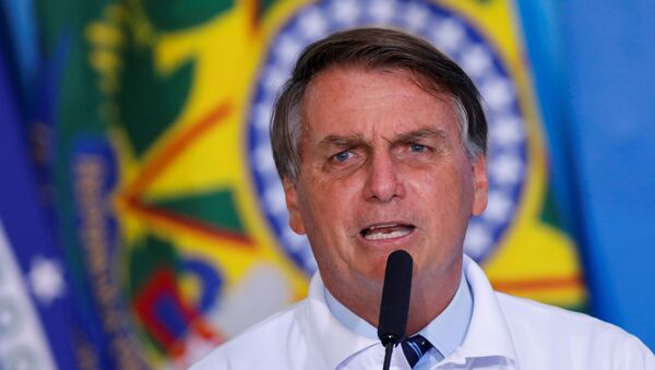 Jair Bolsonaro, el presidente brasileño - Sputnik Mundo