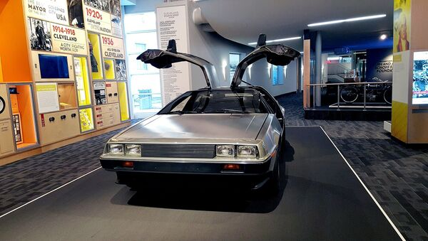 Un DeLorean DMC-12 - Sputnik Mundo