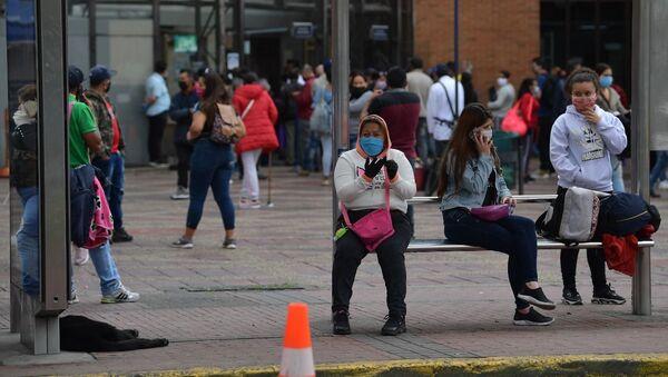 Coronavirus en Bogotá, Colombia - Sputnik Mundo