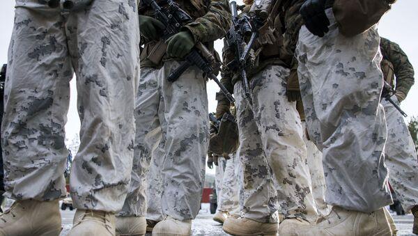 Marines de EEUU en Noruega (archivo) - Sputnik Mundo