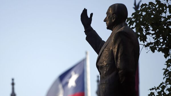 El monumento al expresidente chileno, Eduardo Frei en Santiago - Sputnik Mundo