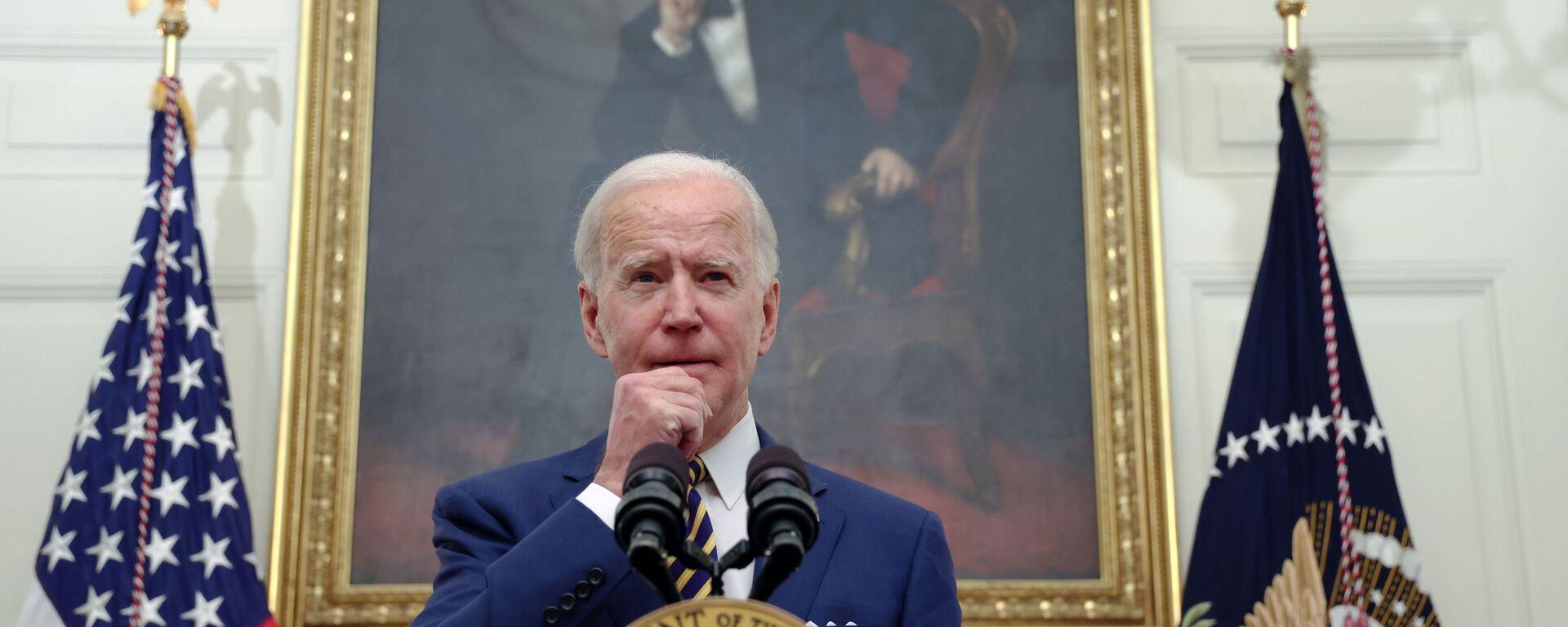 Joe Biden, presidente de EEUU  - Sputnik Mundo, 1920, 26.04.2021