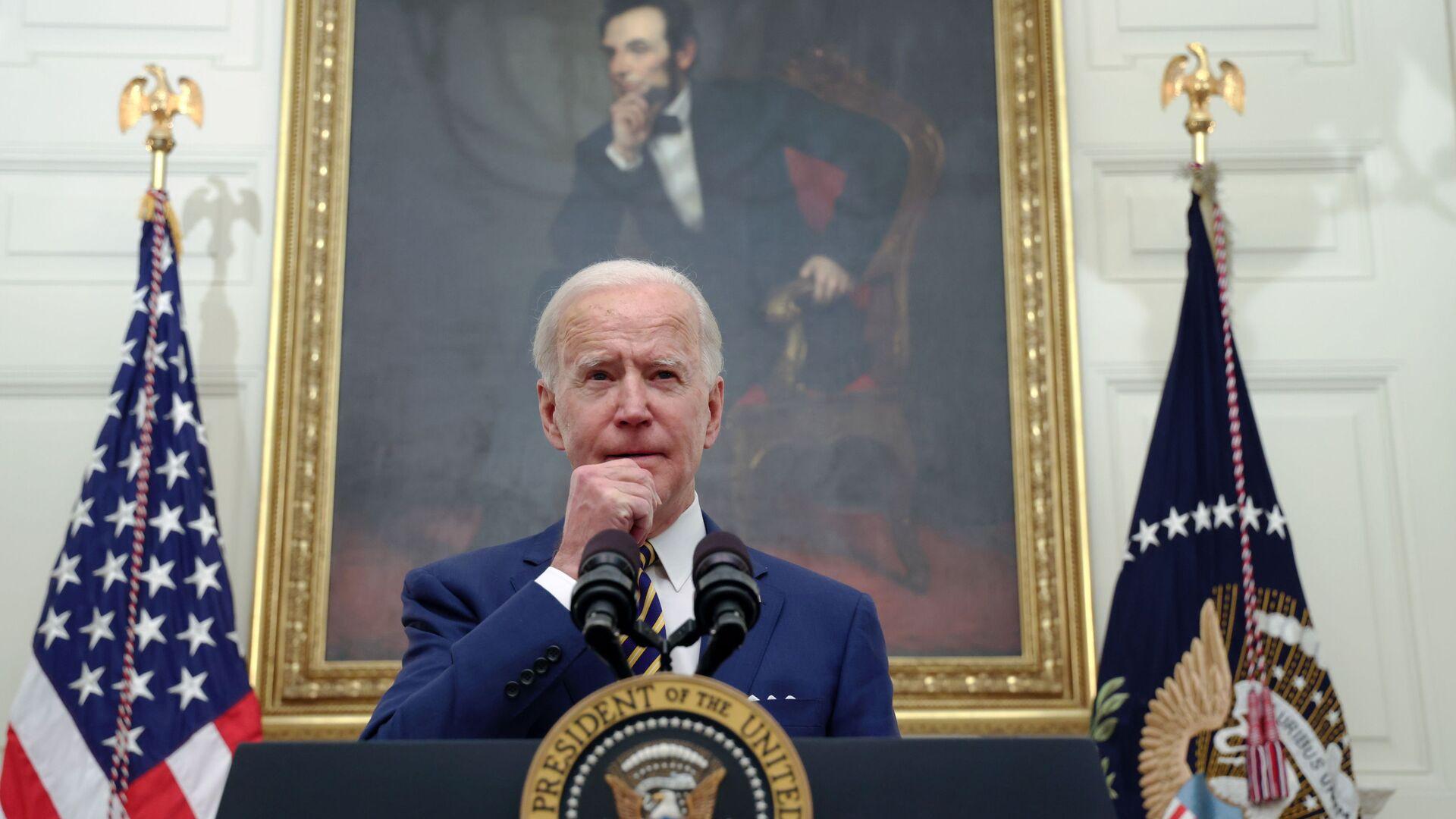 Joe Biden, presidente de EEUU  - Sputnik Mundo, 1920, 05.03.2021