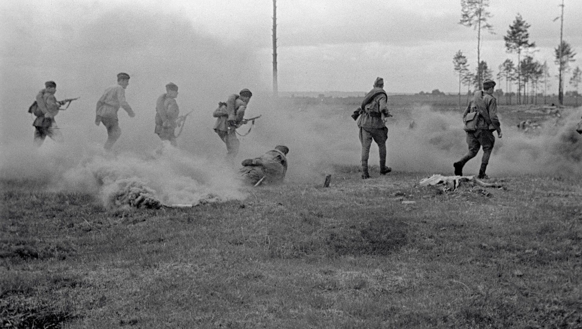 Soldados en la región de Smolensk (1941) - Sputnik Mundo, 1920, 25.01.2021