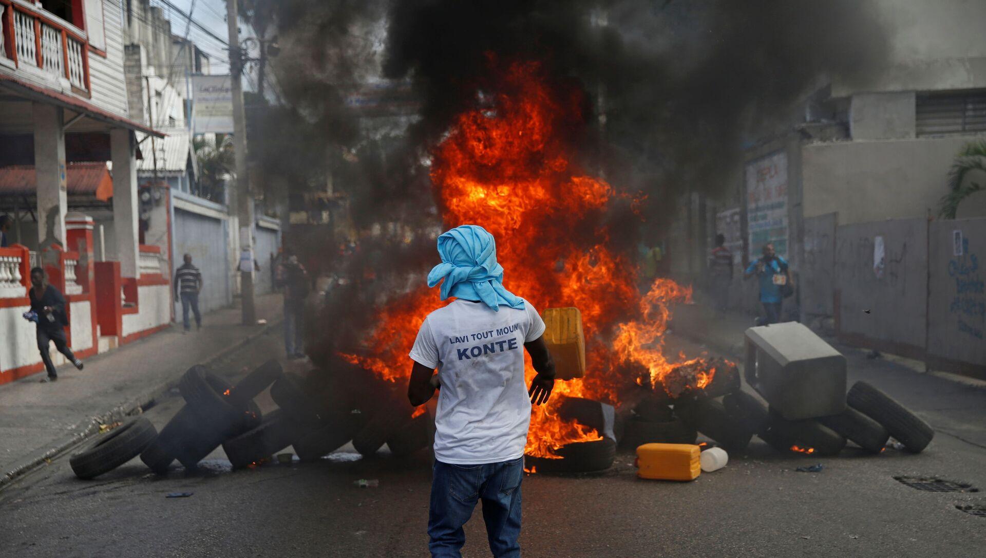 Protestas en Haití - Sputnik Mundo, 1920, 25.01.2021