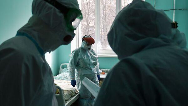 Brote de coronavirus en Rusia - Sputnik Mundo