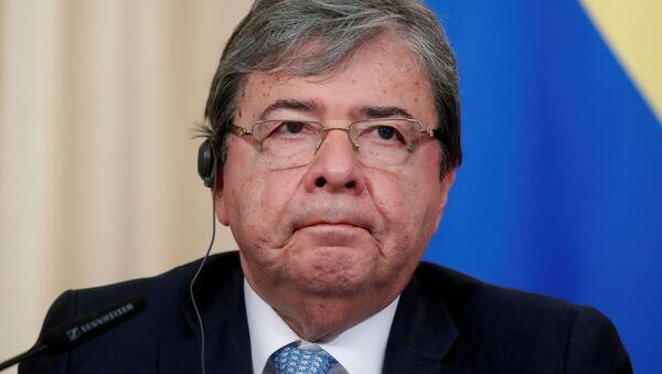 Carlos Holmes Trujillo, ministro de Defensa de Colombia - Sputnik Mundo