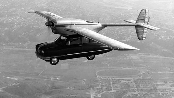 Los autos voladores conquistan las ciudades del mundo   - Sputnik Mundo