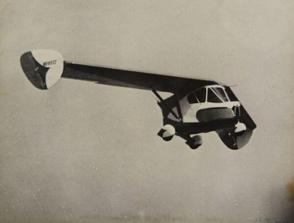 El 21 de febrero de 1937, en California, se llevó a cabo la primera prueba exitosa de un coche aéreo llamado Waterman Arrowbile. - Sputnik Mundo