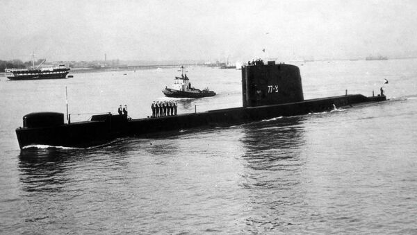 INS Dakar, submarino israelí - Sputnik Mundo