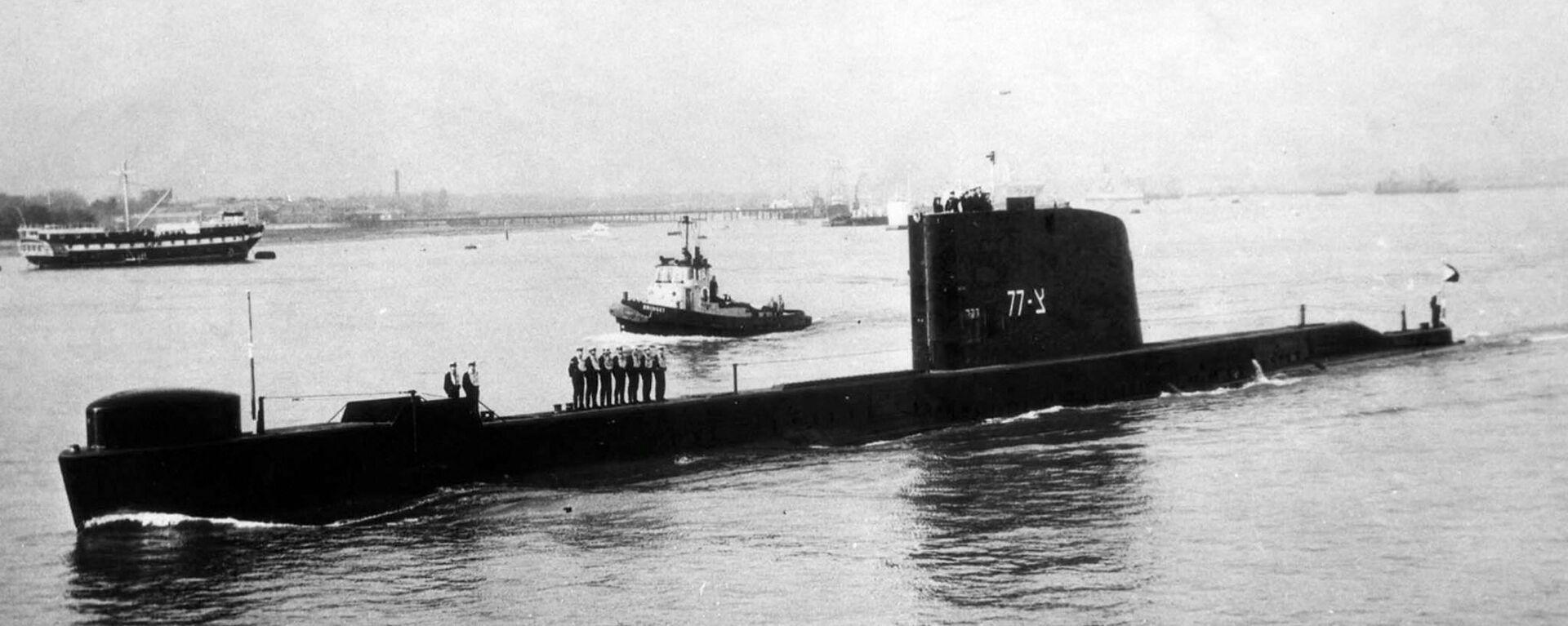 INS Dakar, submarino israelí - Sputnik Mundo, 1920, 26.01.2021