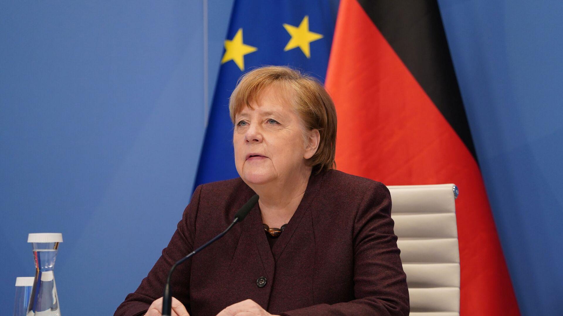 Angela Merkel, canciller alemana - Sputnik Mundo, 1920, 28.06.2021