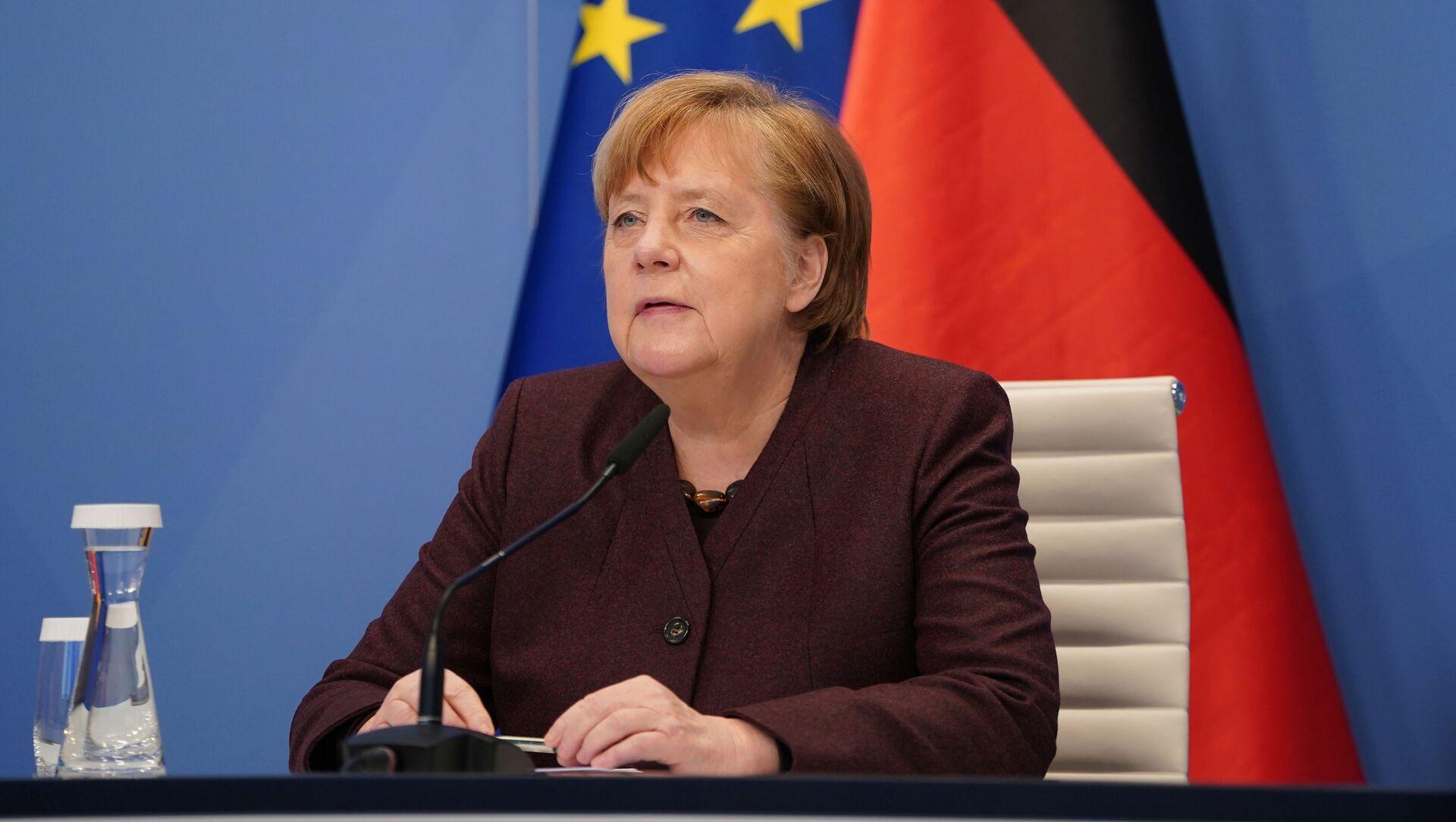 Angela Merkel, canciller alemana - Sputnik Mundo, 1920, 26.01.2021