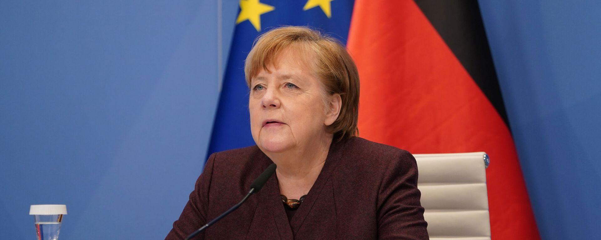 Angela Merkel, canciller alemana - Sputnik Mundo, 1920, 24.06.2021