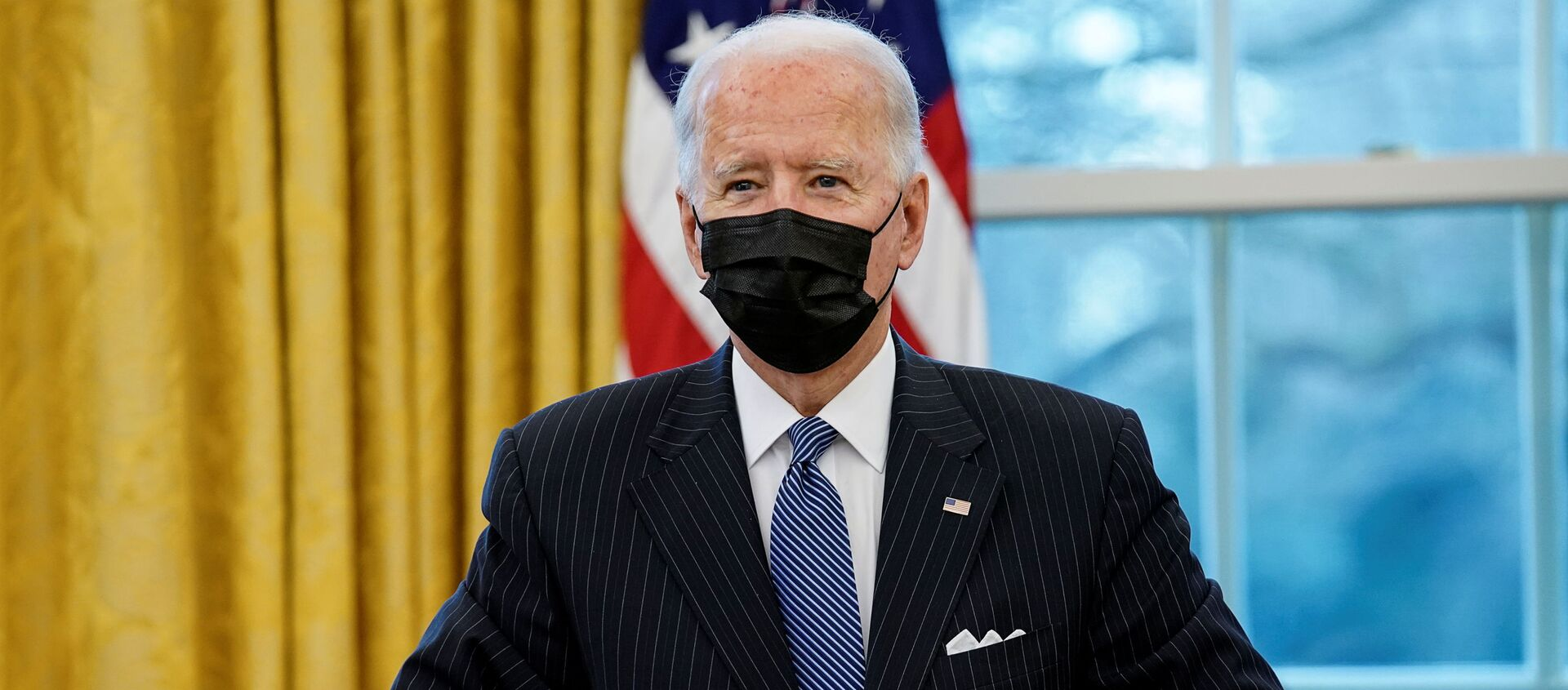 Joe Biden, presidente de EEUU  - Sputnik Mundo, 1920, 26.01.2021