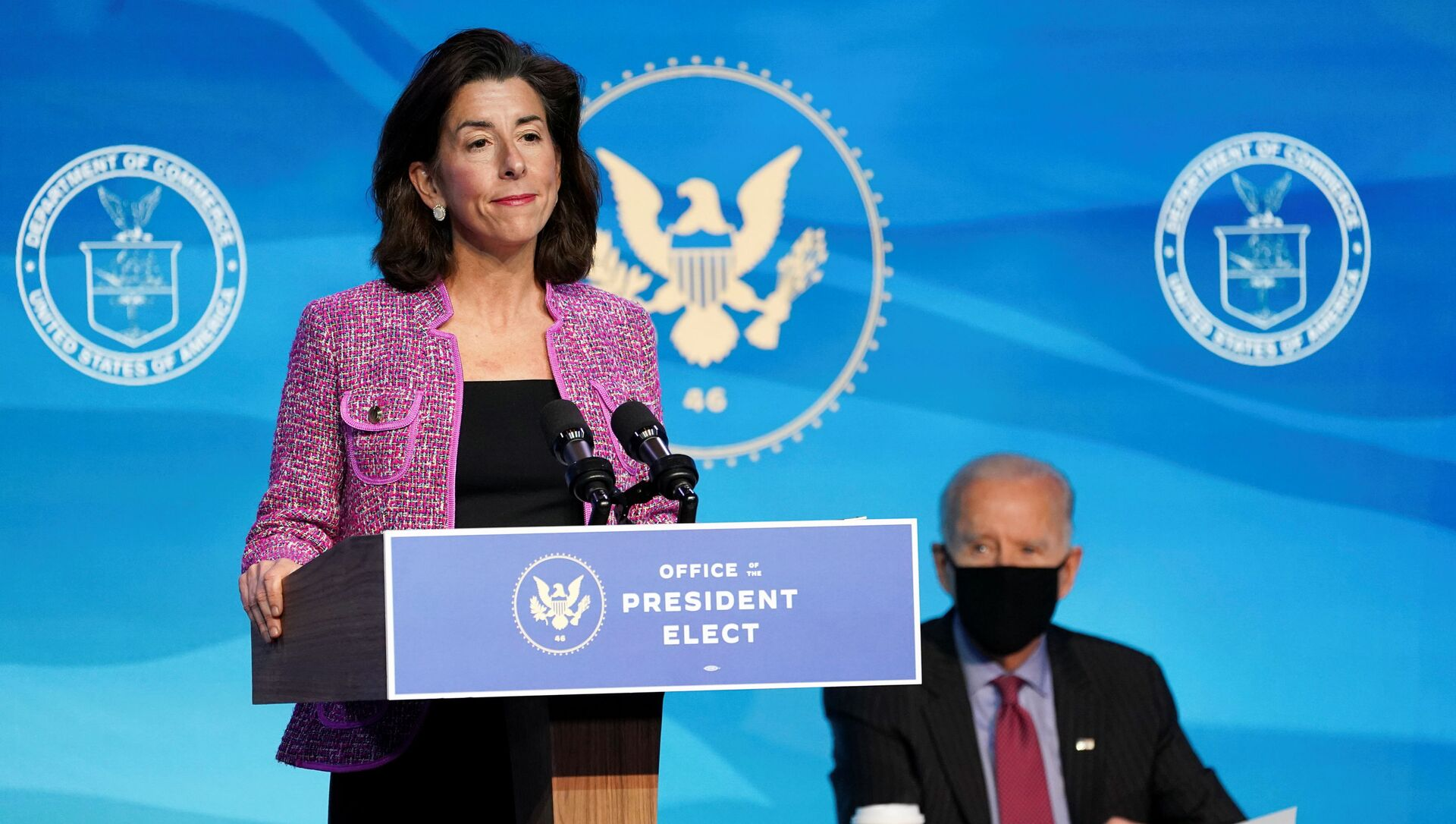 Gina Raimondo, la candidata del presidente de EEUU Joe Biden para secretaria de Comercio - Sputnik Mundo, 1920, 26.01.2021
