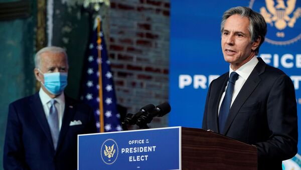 Antony Blinken, secretario de Estado de Estados Unidos - Sputnik Mundo