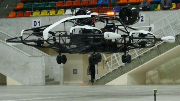 El prototipo taxi volador desarrollado por rusos es presentado en Moscú - Sputnik Mundo
