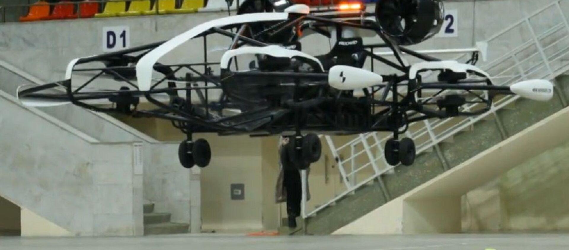 El prototipo taxi volador desarrollado por rusos es presentado en Moscú - Sputnik Mundo, 1920, 26.01.2021