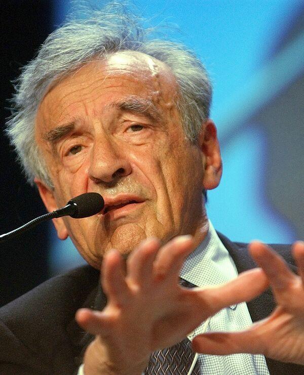 Elie Wiesel - Sputnik Mundo