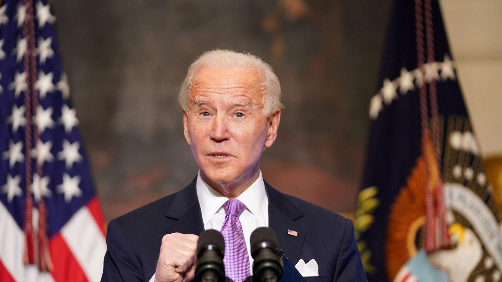 Joe Biden, presidente de EEUU - Sputnik Mundo, 1920, 10.02.2021