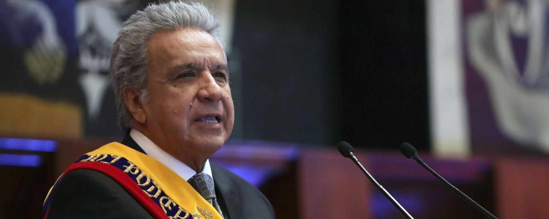 Lenín Moreno, presidente de Ecuador - Sputnik Mundo, 1920, 11.02.2021