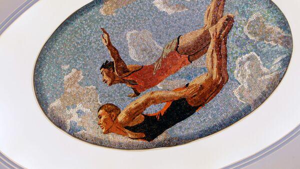Los mosaicos de la estación Mayakóvskaya en Moscú - Sputnik Mundo