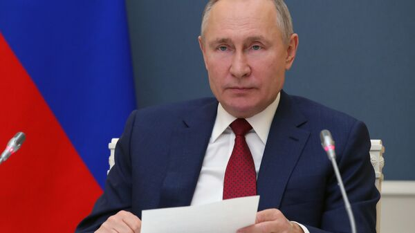 Vladímir Putin, presidente de Rusia - Sputnik Mundo