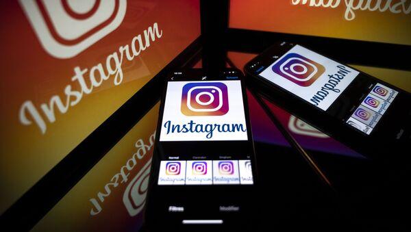 Logo de Instagram - Sputnik Mundo